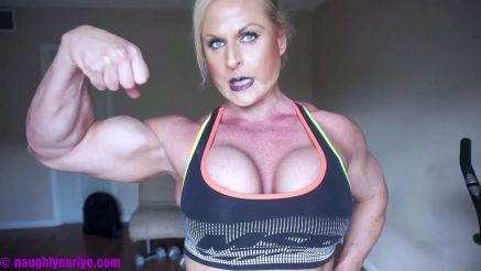 Nuriye Evans amazing vascular arms