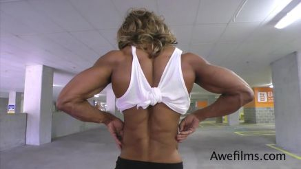 Kim Buck hot shredded back