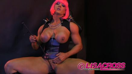 Lisa Cross will humiliate your small cock