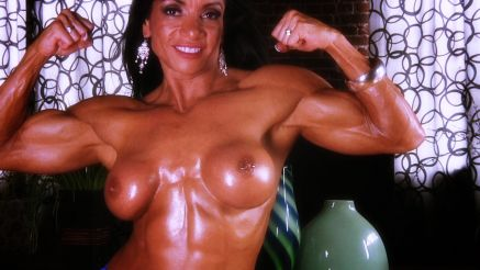 Marina Lopez huge oily muscles