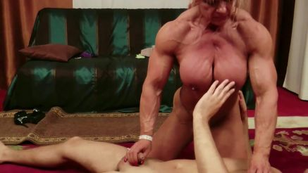 Maryse Manios huge female bodybuilder naked
