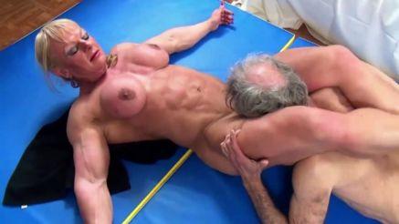 she hulk Maryse Manios xxx muscle porn