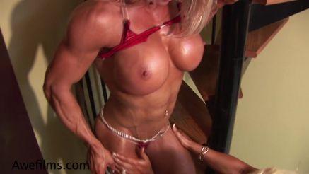 Melissa Dettwiller crazy lean and huge tits.