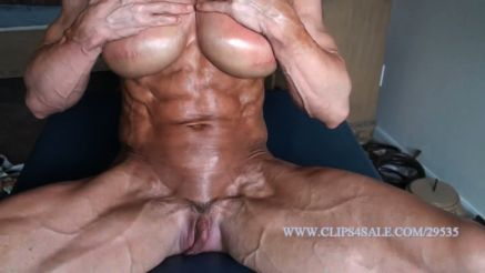 full nude female bodybuilder amazing lena abs