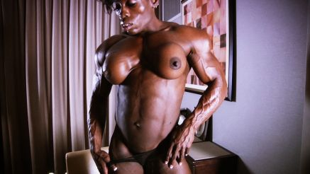 massive muscular woman vascular mistress treasure