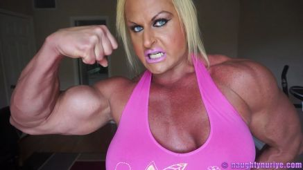 Nuriye Evans incredible strong babe