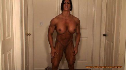 femdom nude showing huge muscle