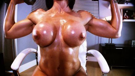 female bodybuilder xxx webcam show goddess rapture