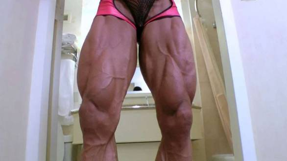 fbb Angela Salvagno crazy huge vascular legs