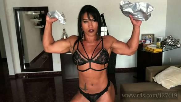 Brazil muscle big tits Brazilian Muscle Videos Muscle Girl Porn