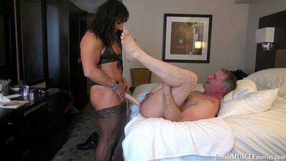 fbb domination strap on pegging anal