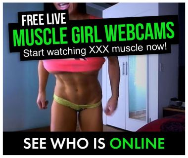 who is online muscle girl cams