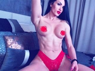 very fit russian girl on her webcam