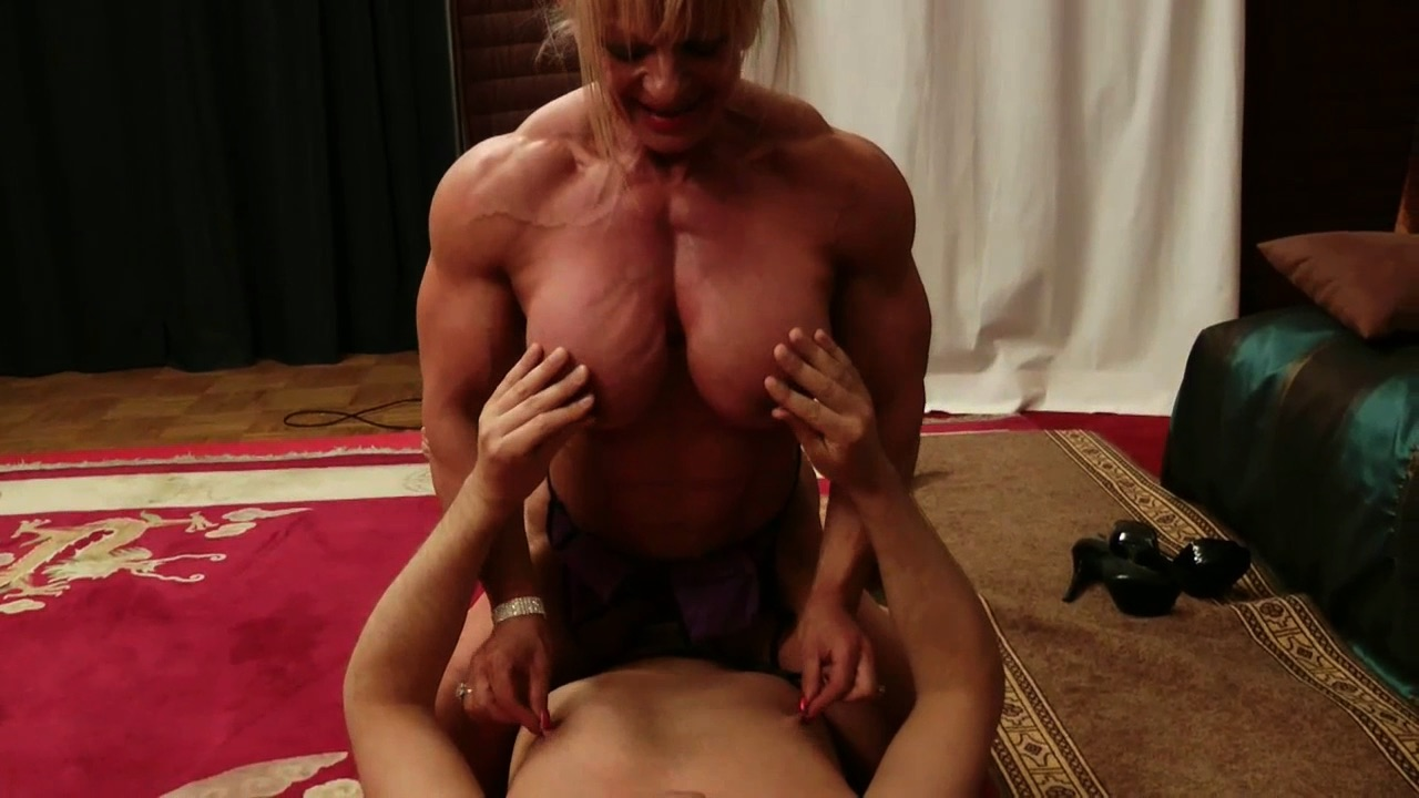 Female muscle domination videos naked