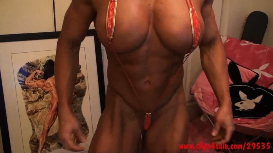 Female bodybuilder lesbian dream girl angela salvagno