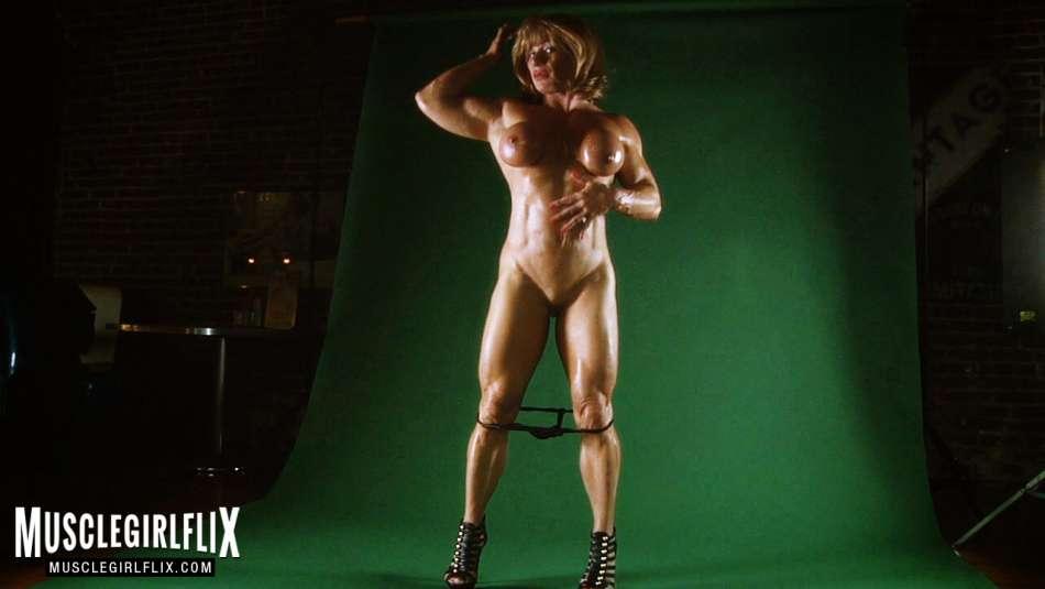 Kathy Conners amazing nude muscle girl