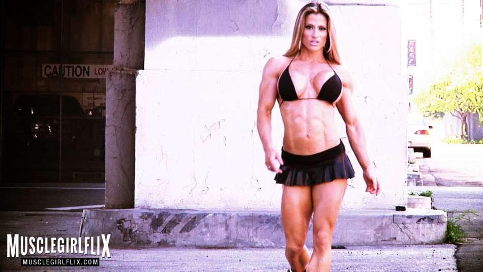 Maria Garcia hard female muscle