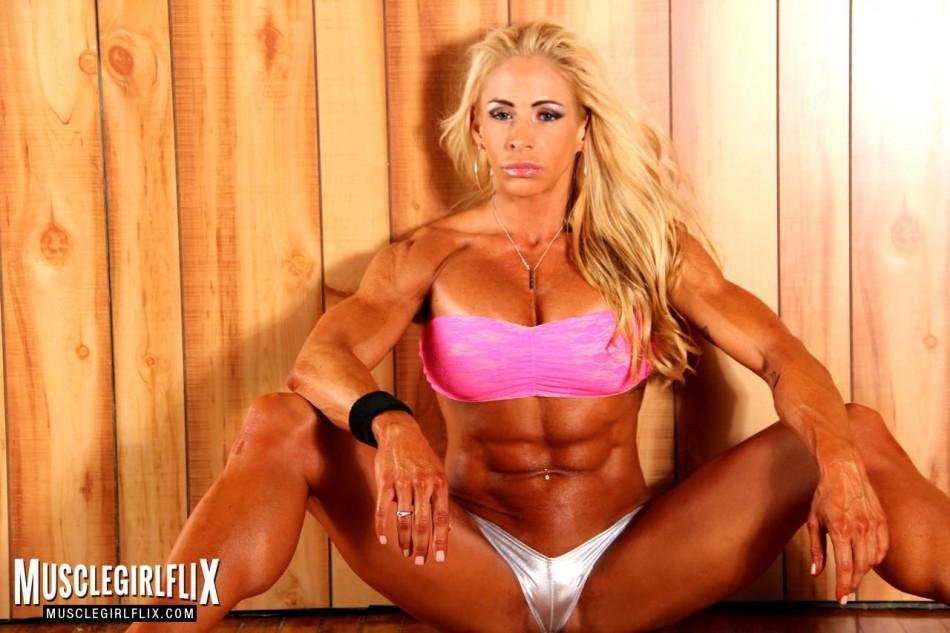 Jill Jaxen hot on the floor.