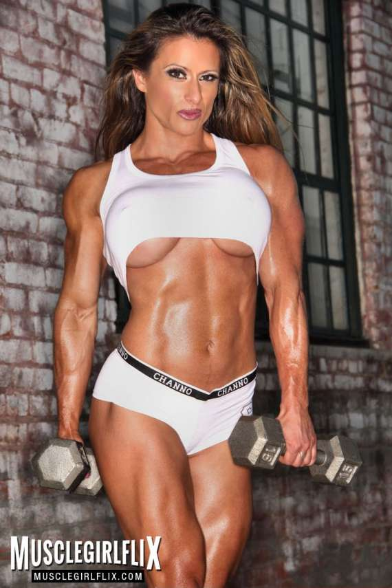 Hot photo of busty Maria Garcia