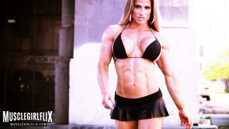 Maria Garcia hot babe with flat abs