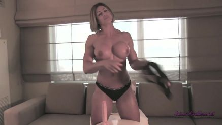 Rapture hot babe topless and toying