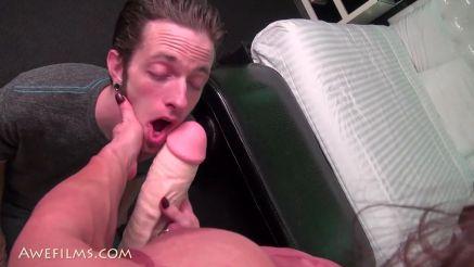 Brandi Mae huge cock in her panties