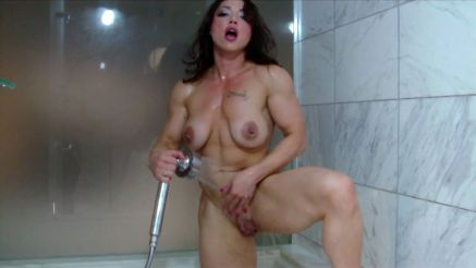 Brandi Mae nude and wet in the shower.