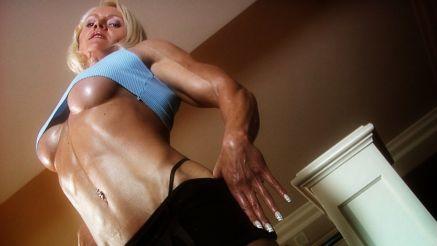 Brigita Brezovac extreme underboob.