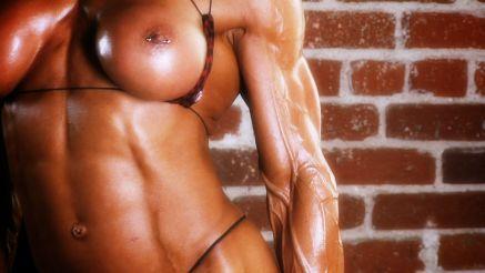 Marina Lopez crazy extreme vascularity.